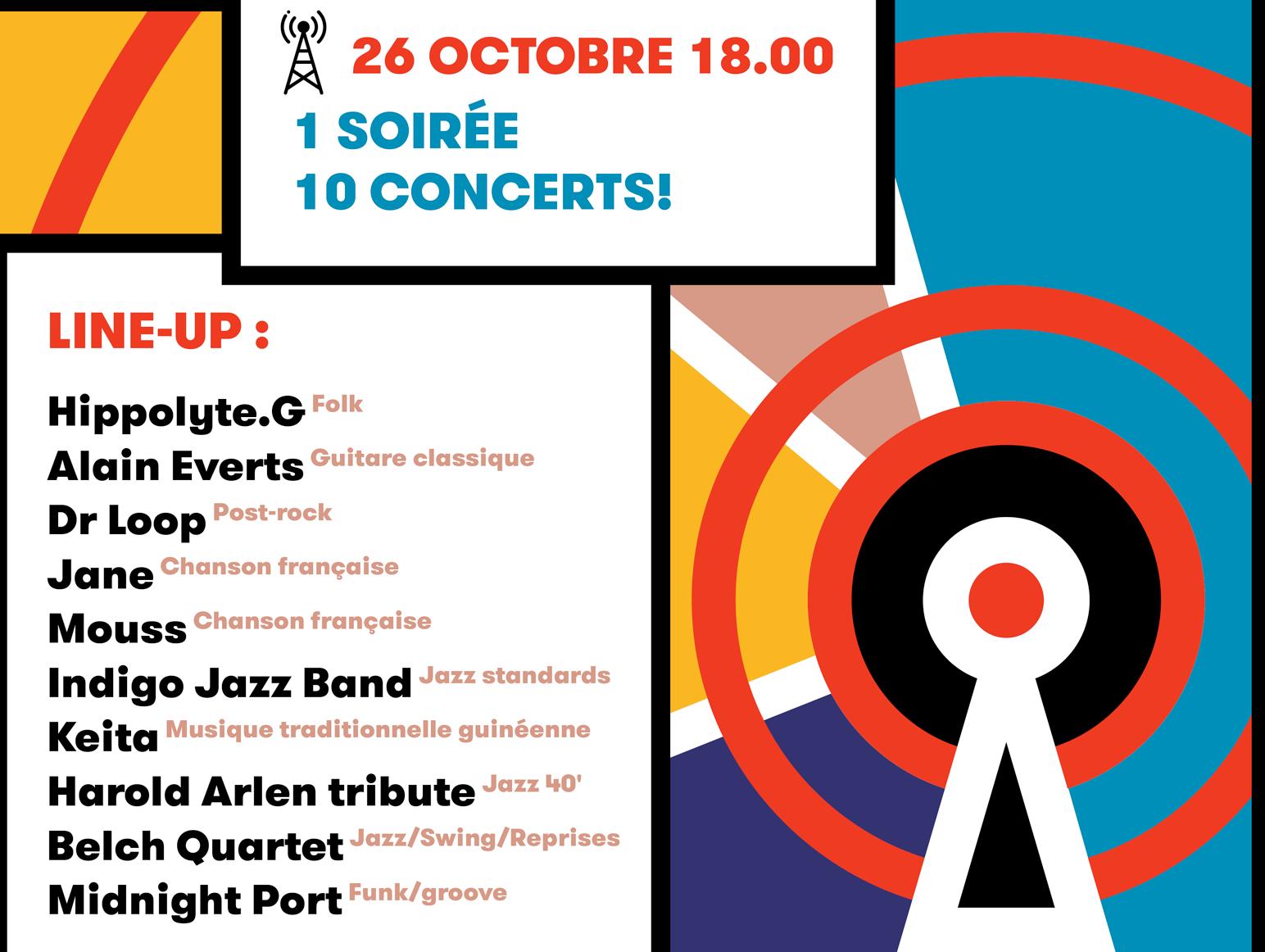 Festival 1060 Fréquences | Festival Concerts