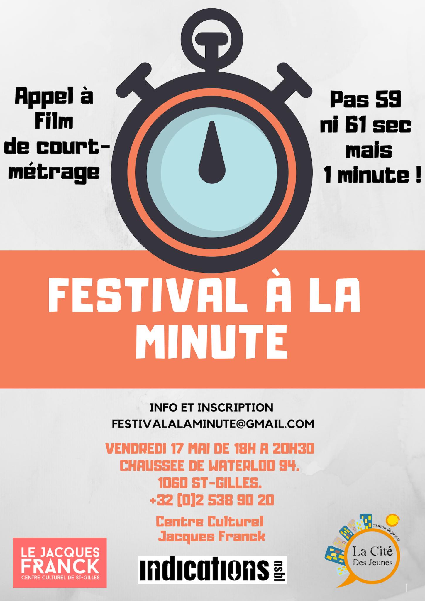 Films à la minute | Festival Cinéma