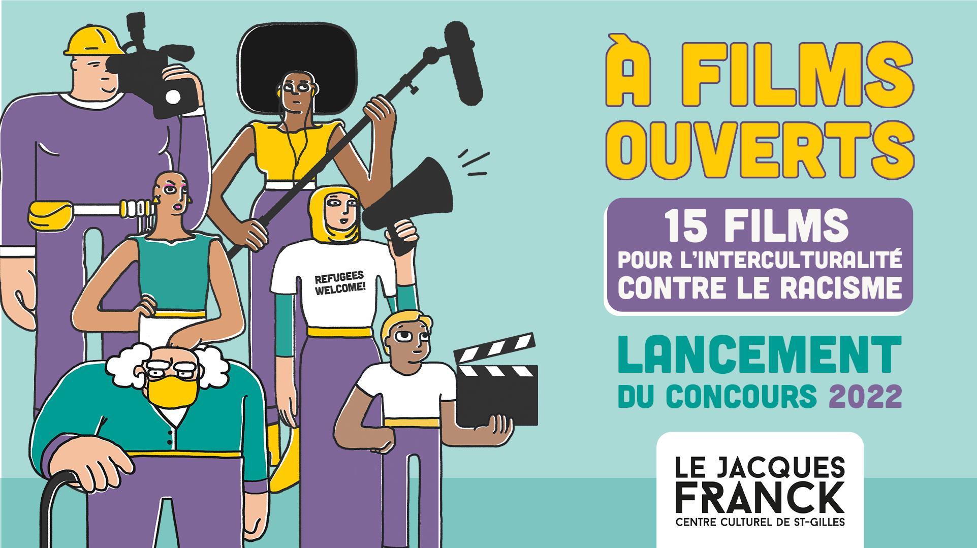 Festival A Films Ouverts :15 ans de courts métrages contre le racisme | Festival Cinéma