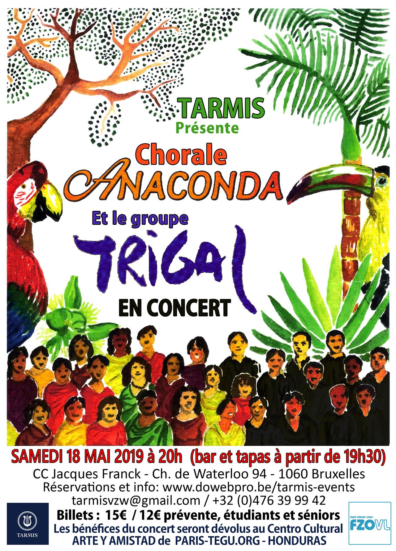 Concert TARMIS |  Concerts
