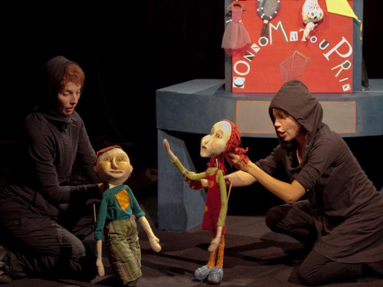 Zazie & Max | Écoles Kids Théâtre