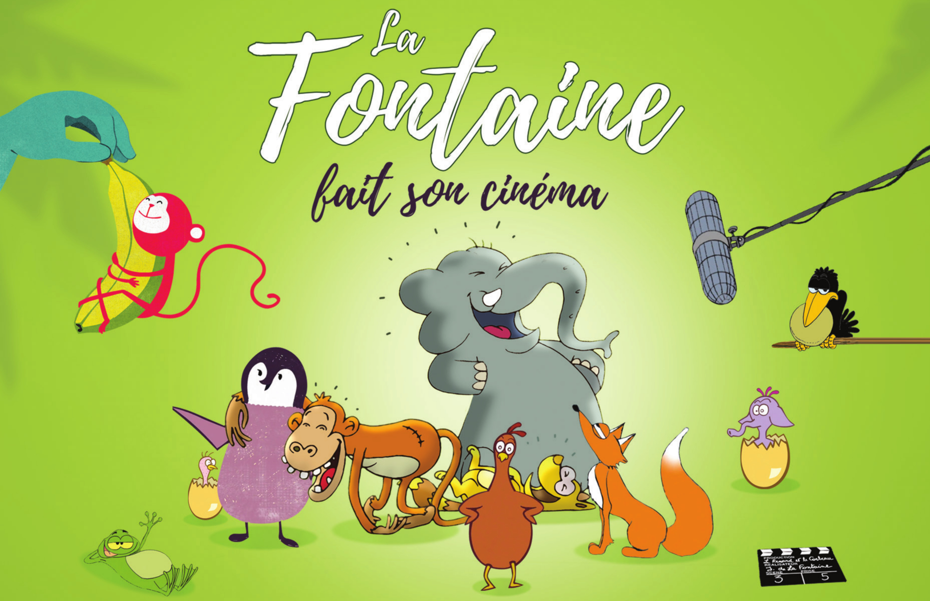 La Fontaine fait son cinéma | Kids Cinéma